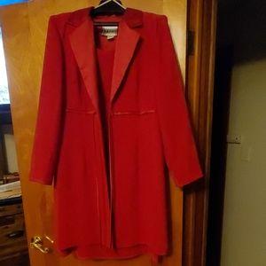 Sheath dress with matching jacket